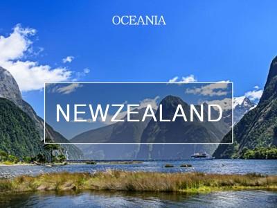 천혜의 자연환경, 뉴질랜드