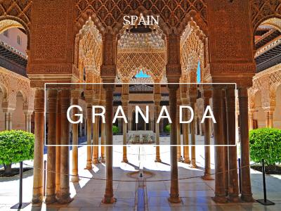 스페인 남부의 휴양도시, 그라나다