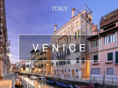 물과 낭만의 도시, 베네치아