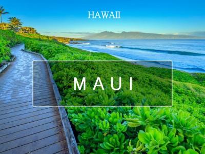 축복받은 하와이 화산섬, 마우이