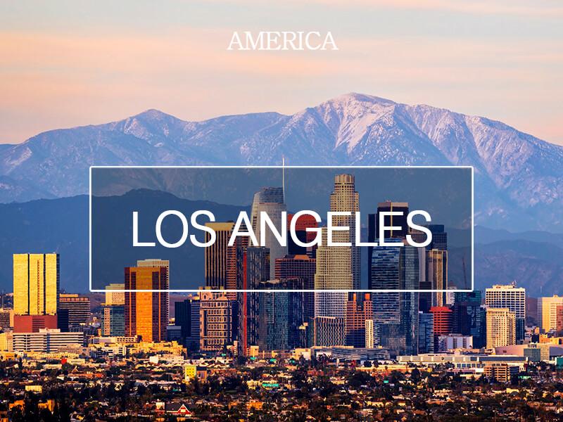 천사들의 도시, 로스앤젤레스
