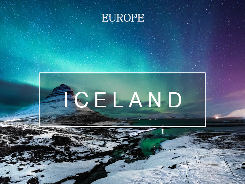 불과 얼음의 땅, 아이슬란드